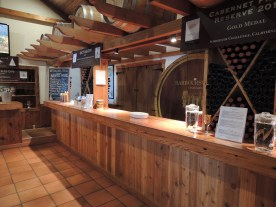 Wine tasting bar (assembly style)