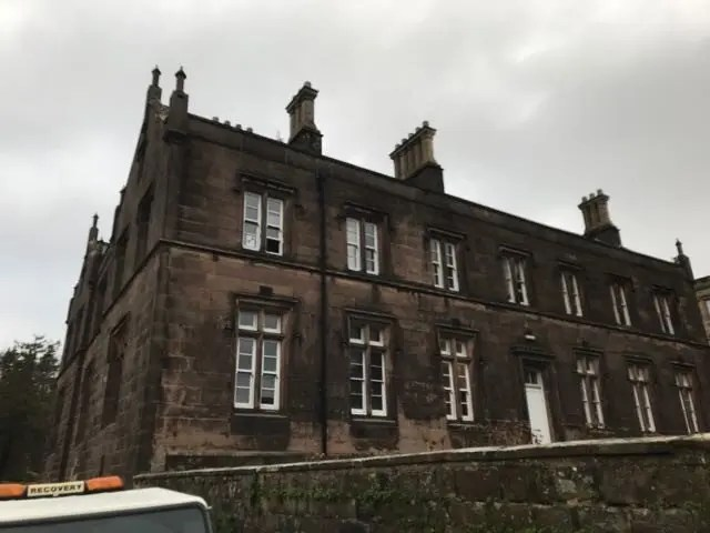 Asbestos surveys North West - Old Infirmary, Stonyhurst College, Clitheroe