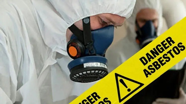 danger asbestos surveyors with RPE