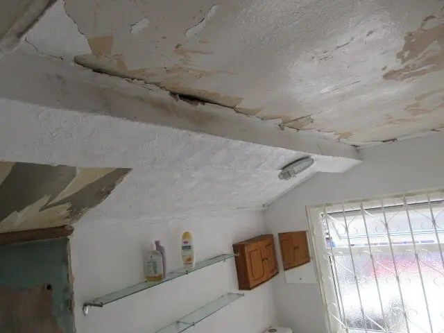 asbestos in homes can include an asbestos ceiling