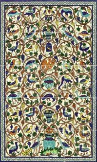 Armenian Ceramics hand painted tiles, decorative tiles and ...