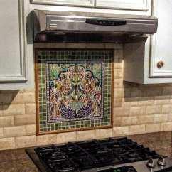 Kitchen Tile Designs Backsplash For Tiles Ideas Balian Studio Hand Painted Mural