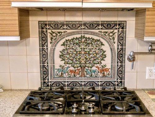 kitchen tile designs irish blessing backsplash tiles ideas balian studio cook top