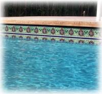 Tile For Swimming Pool Waterline | Tile Design Ideas