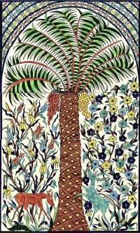 The Pam Tree Ceramic Tile Murals of Marie Balian from ...