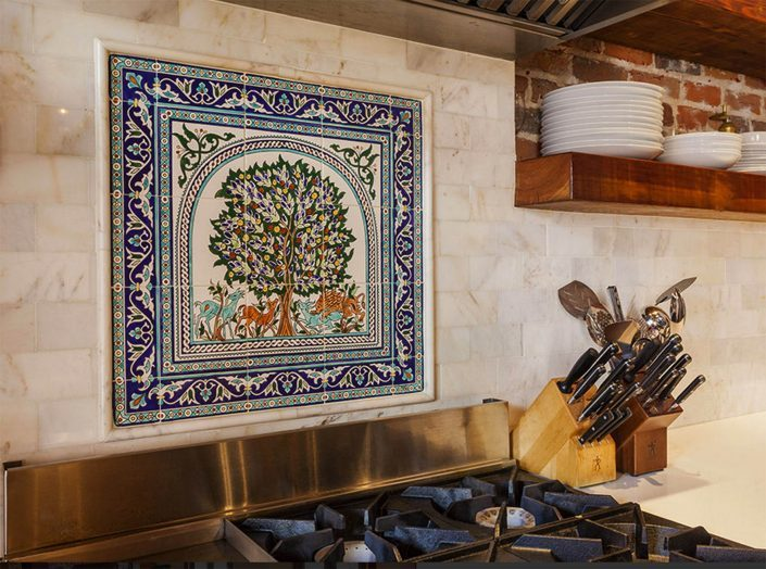 Kitchen Tile Murals
