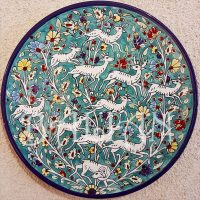 Large Decorative Ceramic Plates Custom Large Hand Painted ...