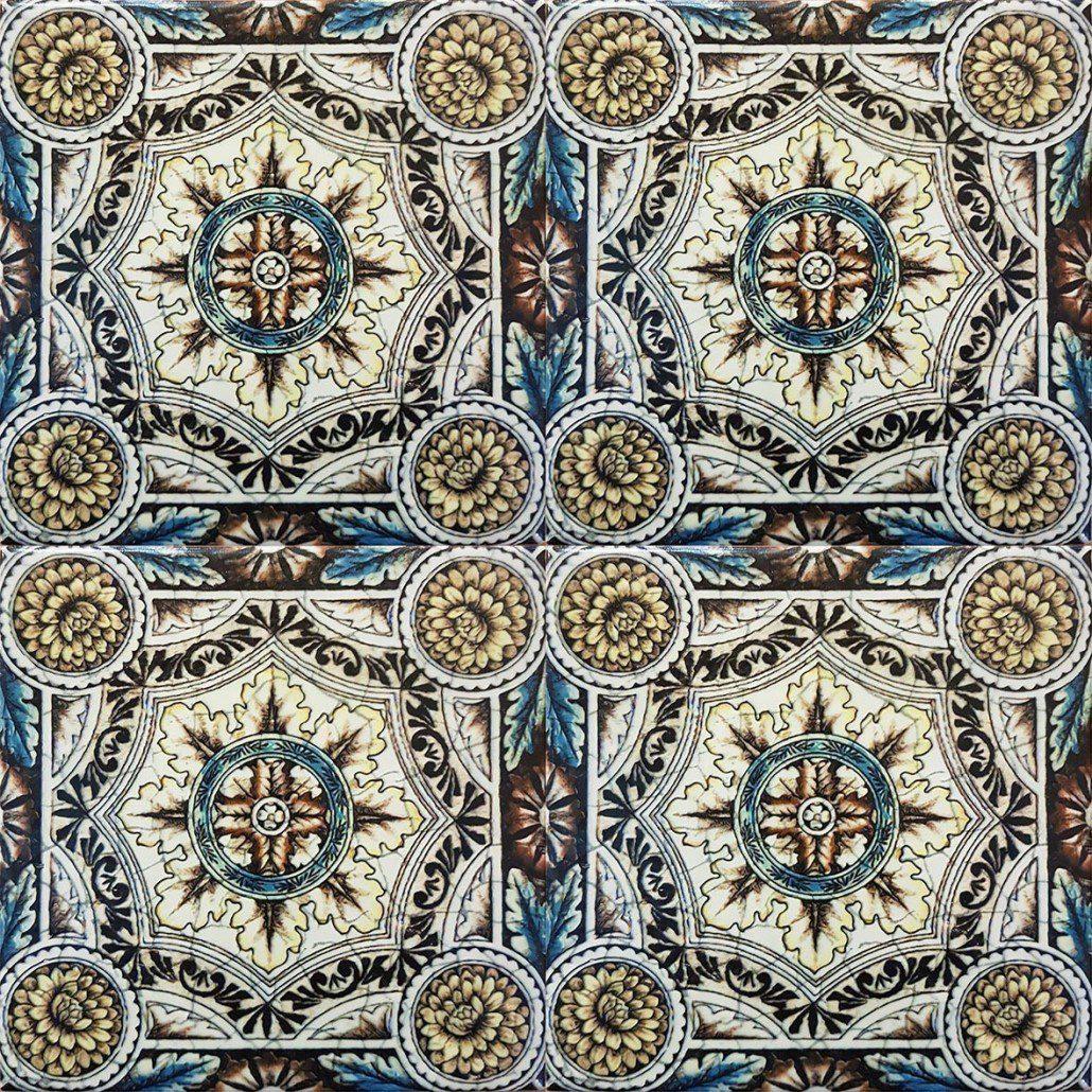 Victorian Tile  Minton Tile Reproductions  Armenian Ceramics