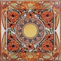 Custom Tile Art & Vintage Art Deco Nouveau Tiles by Balian ...