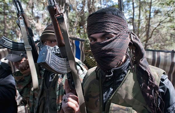 muslim jihadists in syria. t a group of 10 Christians, including seven Armenians, was kidnapped near Aleppo.