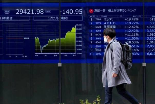 Asian Stocks up - 19-04-21