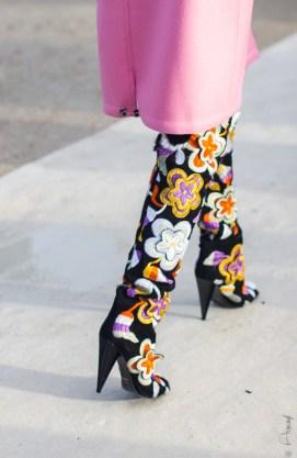 Street Style at Nina Ricci