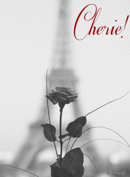 Paris Postcard by Armenyl Blessed