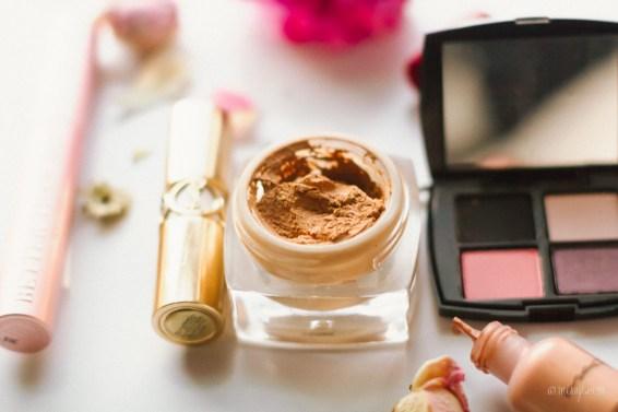 Makeup, estee lauder eyeshadow palettem two faced mascara, L'oreal, YSL, MAC x RiRI
