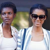 Model Portraits: Amilna Estevao & Alécia Morais