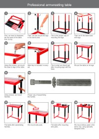 Professional Armwrestling Table # Armwrestling Shop ...