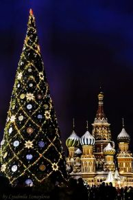 Christmas Celebration in Moscow