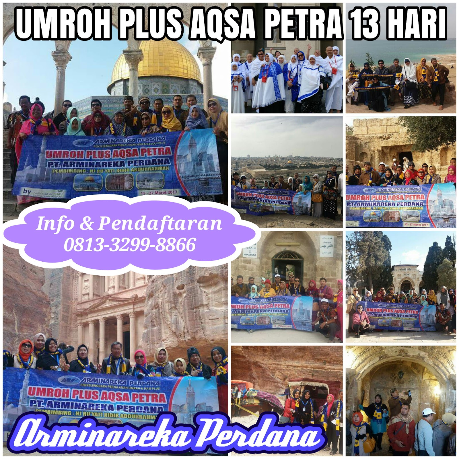 Umroh Start Jakarta  Arminareka Perdana Surabaya