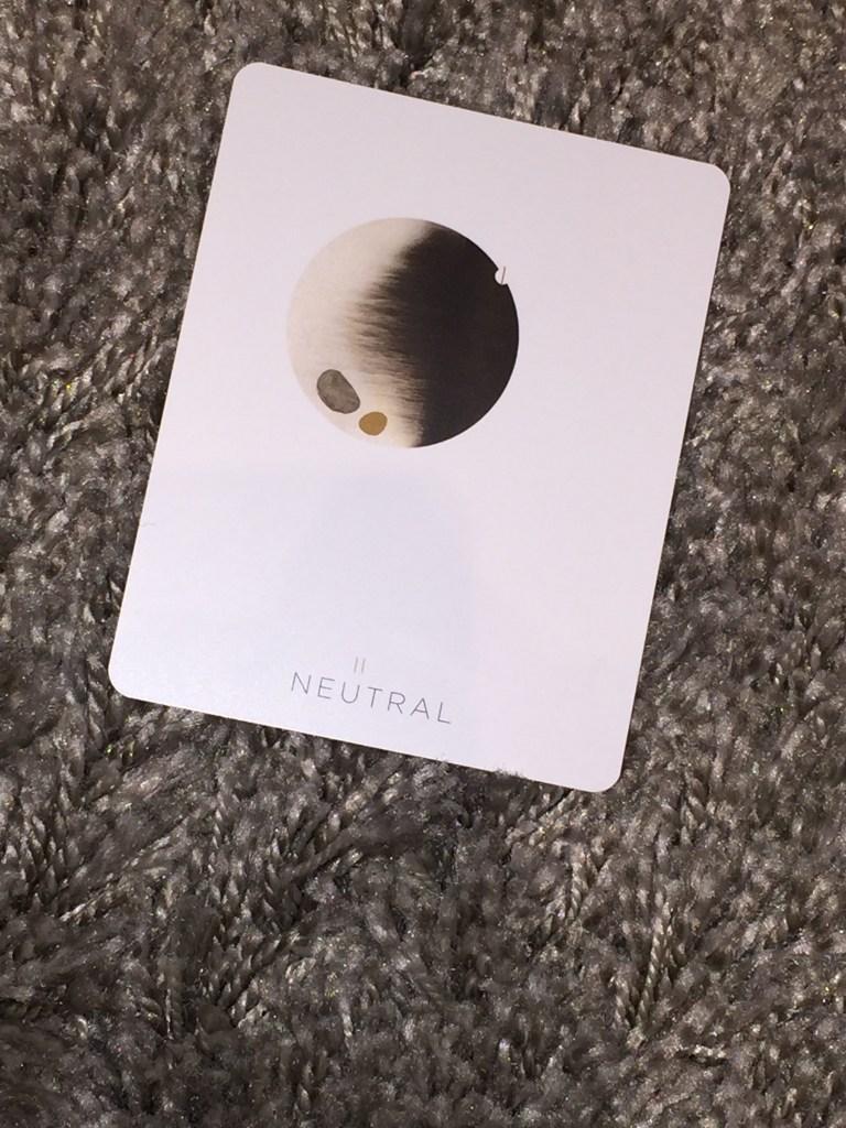 Tune-in Thursdays: Neutral