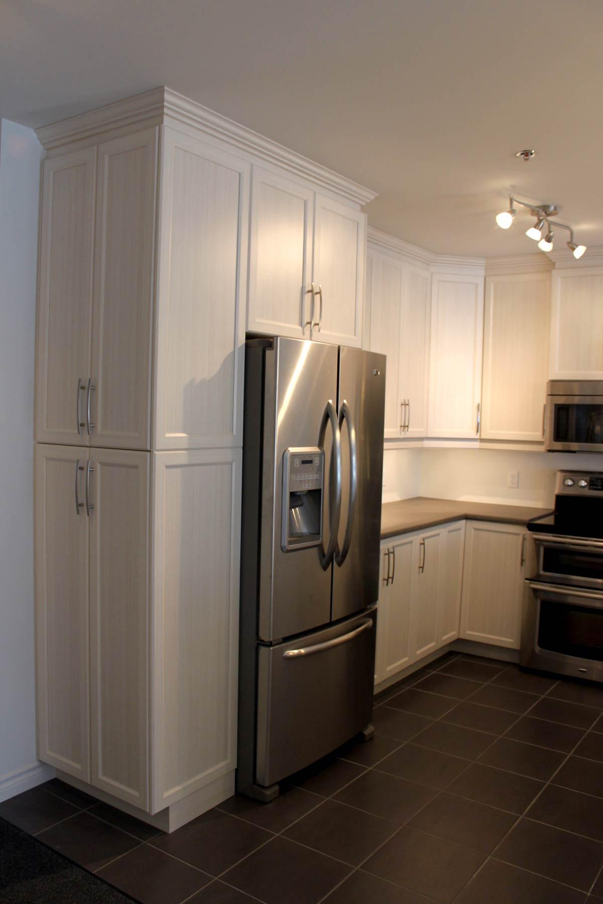 meuble cuisine frigo
