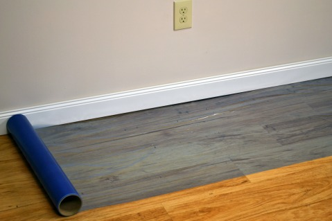 Hardwood Floor Protection felt pad nailed to chair leg to protect the wood floor from scratches Floor Protection Film