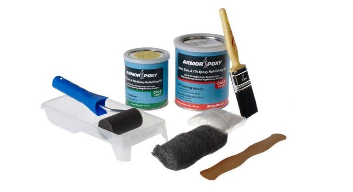 ARMORPOXY BATH SINK  TILE REFINISHING KIT  ArmorPoxy
