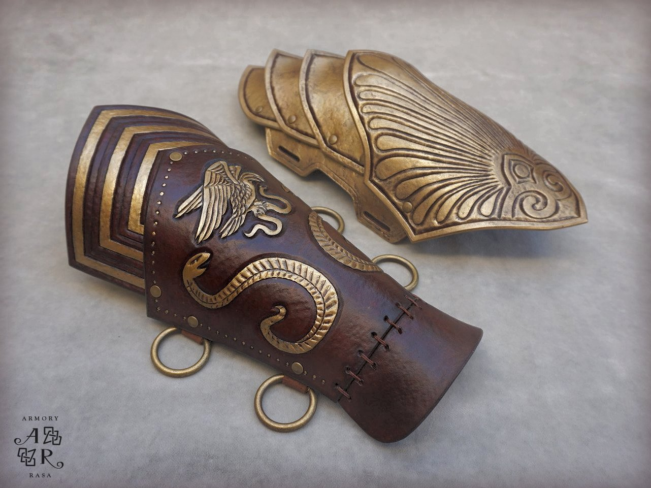 Assassin S Creed Odyssey Bracers Armory Rasa