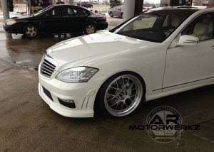 Mercedes Benz W221 SCLASS on BBS LMR'S