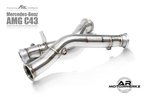 FI exhaust C43 AMG W205 DP