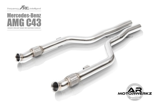 FI exhaust C43 AMG W205 front
