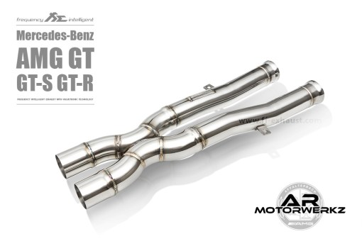 Fi Exhaust AMG GT GTS GTR C190 Front Valved