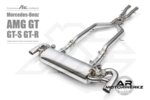 Fi Exhaust AMG GT GTS GTR C190 Full Valved