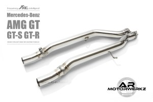 Fi Exhaust AMG GT GTS GTR C190 Mid Valved