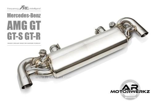 Fi Exhaust AMG GT GTS GTR C190 Muffler Valved