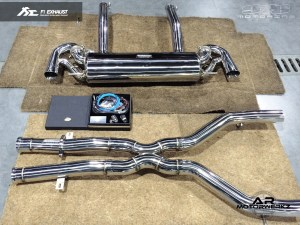 Fi Exhaust AMG SLS Full system
