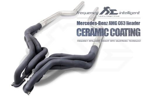 Fi Exhaust C63 AMG W204 Ceramic Header