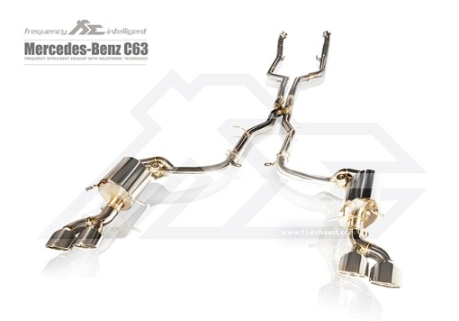 Fi Exhaust C63 AMG W204 Full
