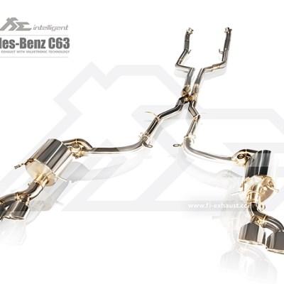 Fi Exhaust C63 AMG W204 Full