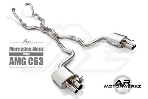 Fi Exhaust C63 AMG W205 full