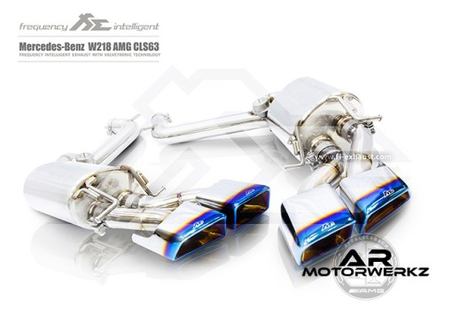 Fi Exhaust CLS63 AMG W218 mufflers