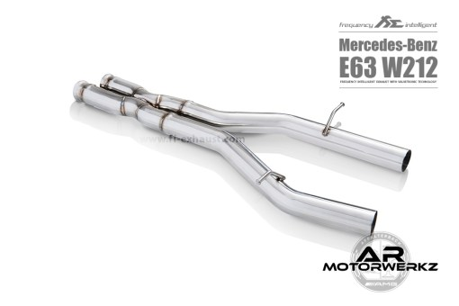 Fi Exhaust E63 AMG W212 Mid