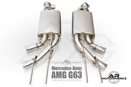 Fi Exhaust G63 AMG 2015+