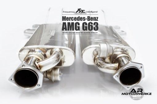 Fi Exhaust G63 AMG 2015+ 3
