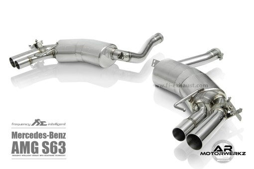 Fi Exhaust S63 AMG Coupe C217 muffler
