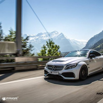 prior design, pd65cc, widebody, c63, amg, w205, c coupe