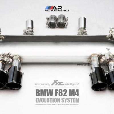 fi evolution valvetronic exhaust bmw f82 m4