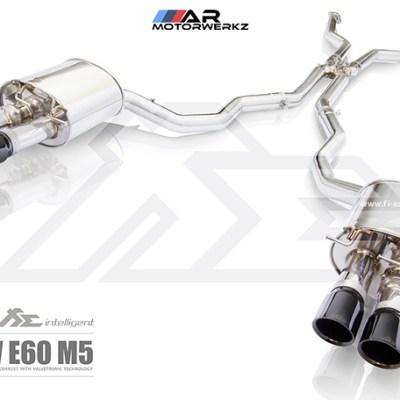 fi valvetonic exhaust bmw e60 m5
