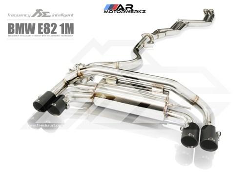 fi valvetronic exhaust bmw e82 1m