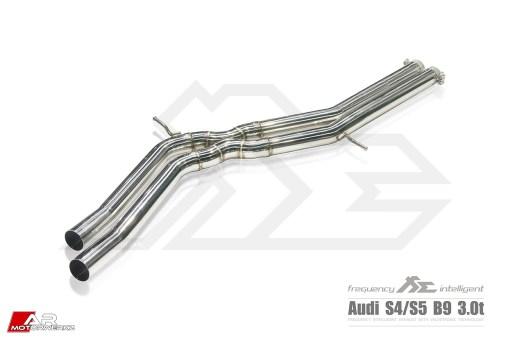 Audi B9 S4 S5 Fi Exhaust Valvetronic Valved
