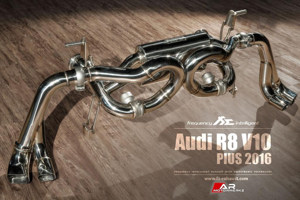 R8 V10plus Mk2 2016 Fi Exhaust Ar Motorwerkz